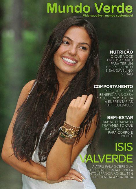 Revista Mundo Verde Isis Valverde
