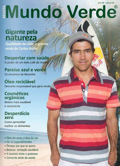 Revista Mundo Verde Carlos Burle