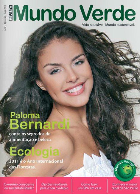Revista Mundo Verde Paloma Bernardi