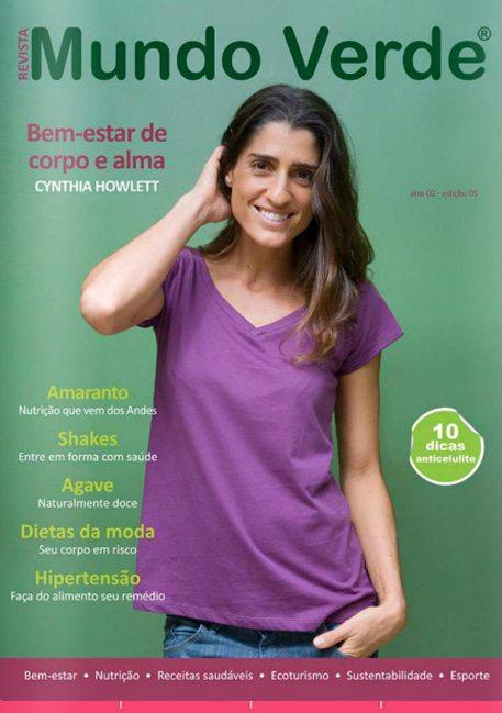 Revista Mundo Verde Cythia Howlett