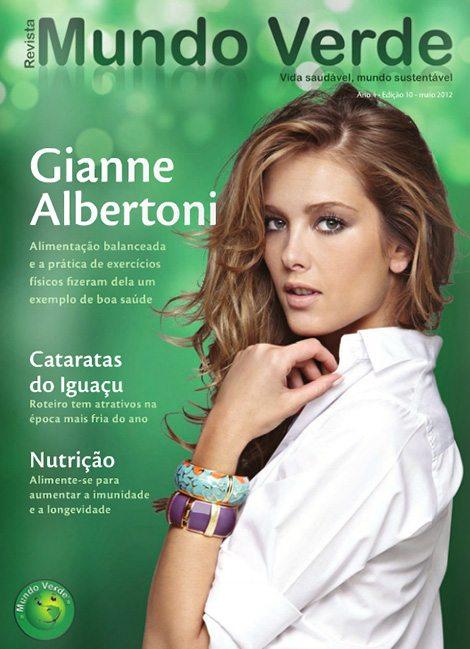 Revista Mundo Verde Gianne Albertoni
