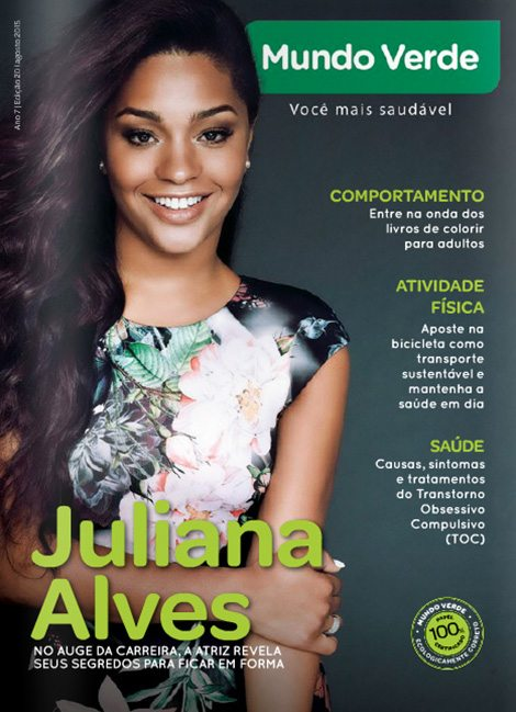 Revista Mundo Verde Juliana Alves
