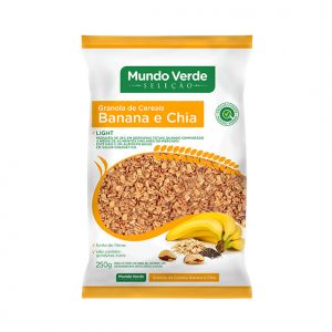 GRANOLAS – BANANA E CHIA LIGHT