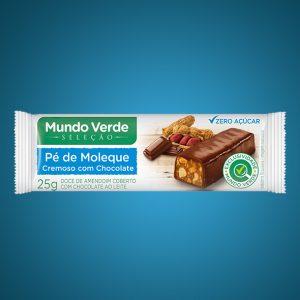 PÉ DE MOLEQUE CREMOSO COM CHOCOLATE