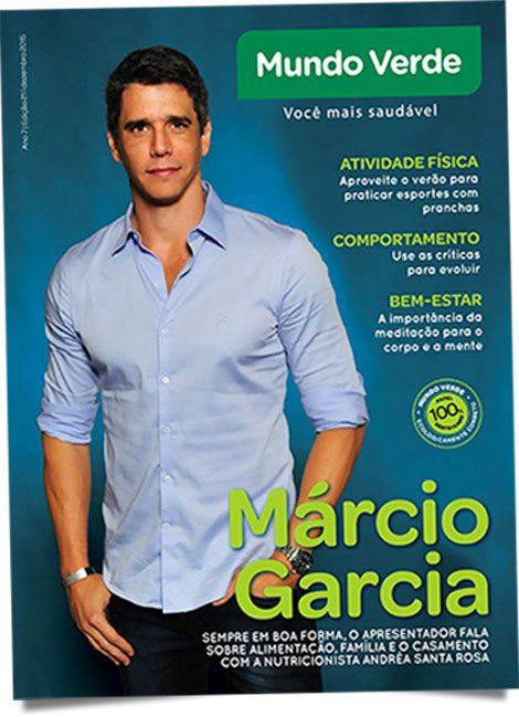 Revista Mundo Verde Marcio Garcia