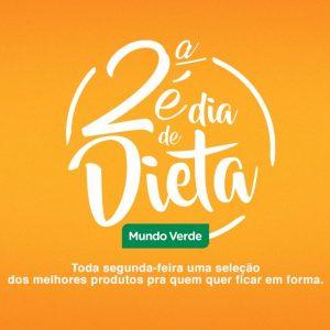 """Mundo Verde lança """"Segunda é dia de Dieta"""""""