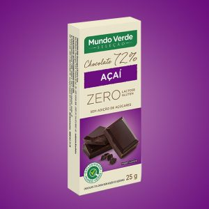 CHOCOLATE 72% COM AÇAÍ