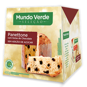 Panettone Light de Chocolate