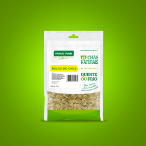 Chá in natura – Boldo do Chile – 30g