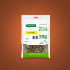 Chá in natura – Hortelã – 30g