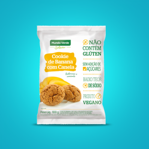 Cookie de Banana com Canela – 100g