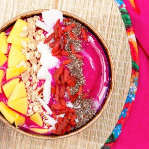 Receita Pitaya Power Smoothie Bowl