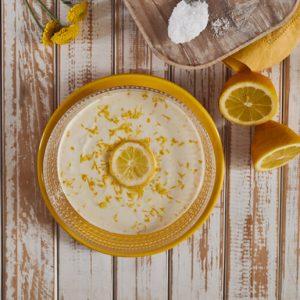 Mousse de limão com xilitol