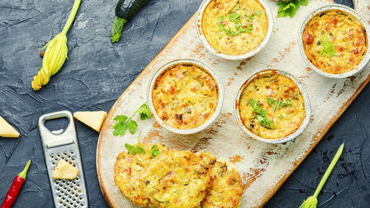 Muffin salgado de legumes