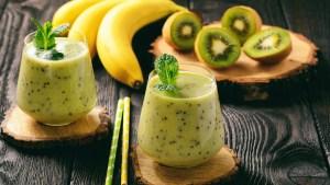 Receita de Smoothie de kiwi com chia