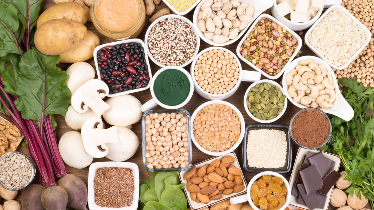 Alimentos ricos em ferro na dieta vegetariana