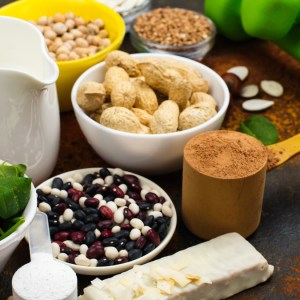 Proteína vegetal e ganho de massa muscular