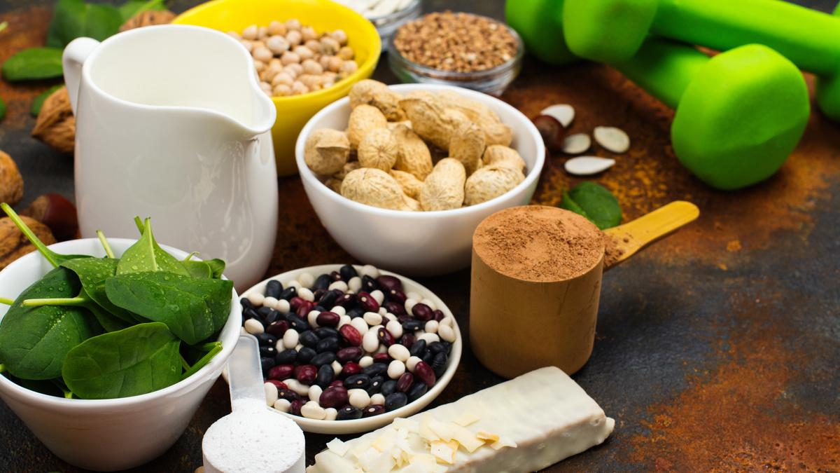 Proteína vegetal e ganho de massa