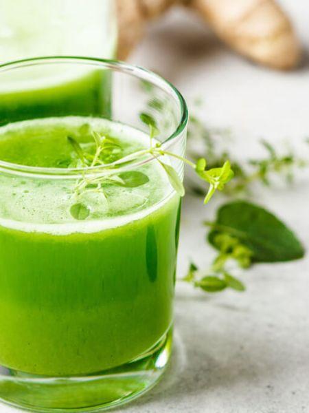 Receita de Suco verde energético