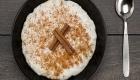 Arroz-doce integral zero açúcar